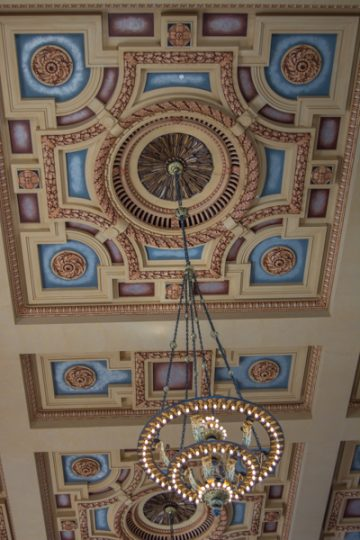 Ceiling in Union Station