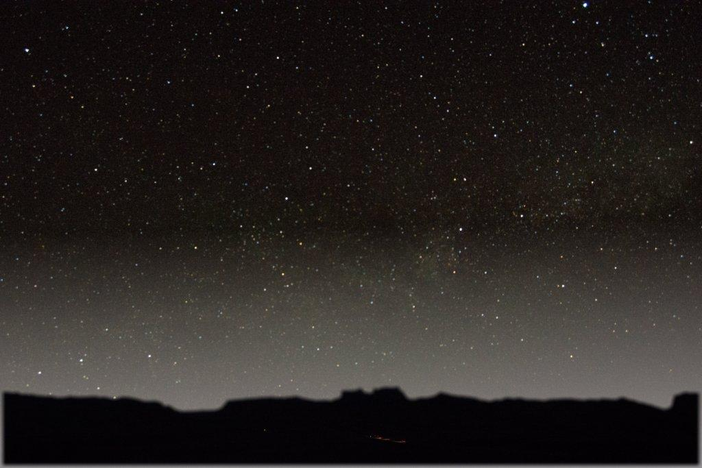 Night Sky at Goblin Valley State Park