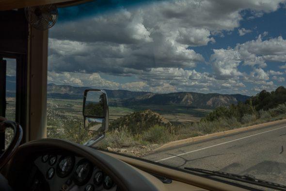 Entering Mesa Verde