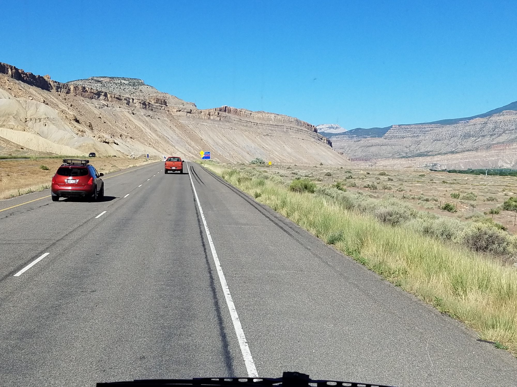 Leaving Grand Junction