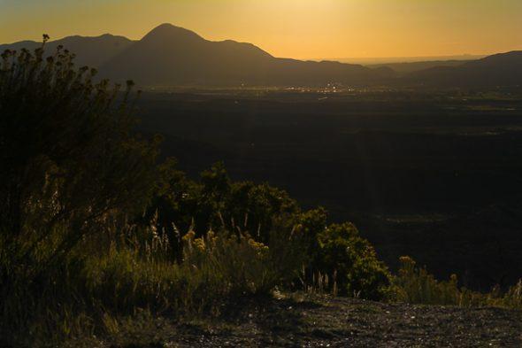Sunset over Cortez