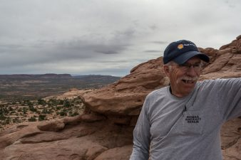 Storm at Arches National Park