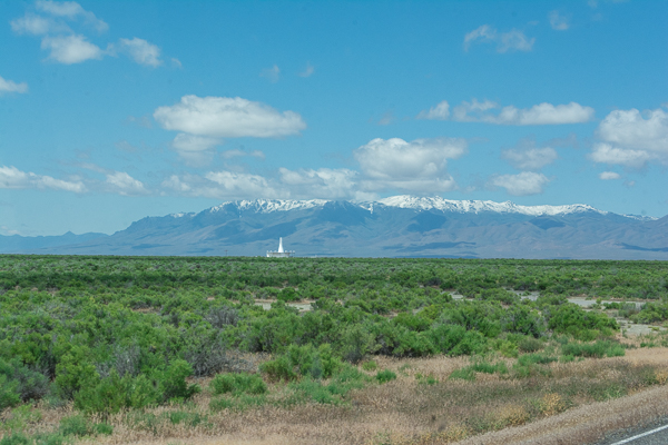 CR 140 in Nevada - VOR on the left