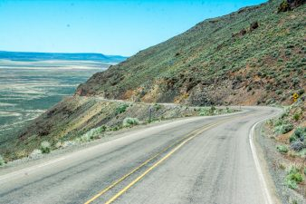 CR-140 toward Oregon
