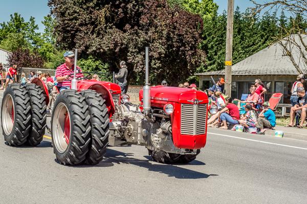 Unusual Tractor