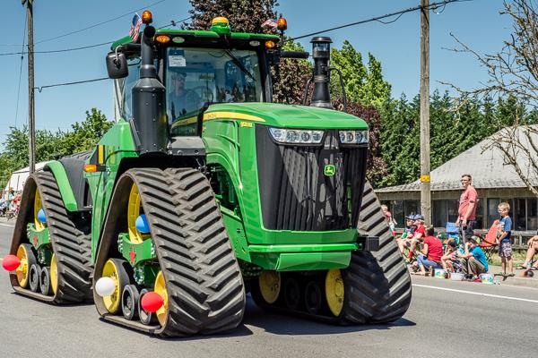 Huge Tractor