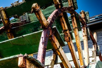 Paddlewheel at Winchster Bay Oregon