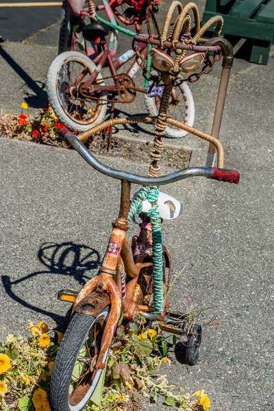 Bike Art in Bandon