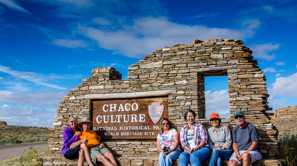 Entrance Chaco Culture National Historic Park