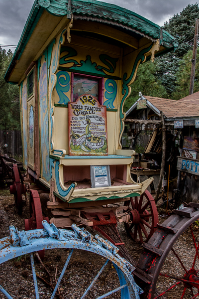 Old Carriage at Tinkertown