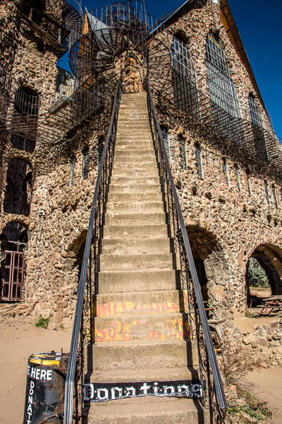 Staircase at Bishop's Castle