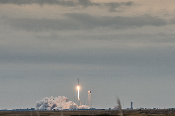 Rocket liftoff at Wallops Island