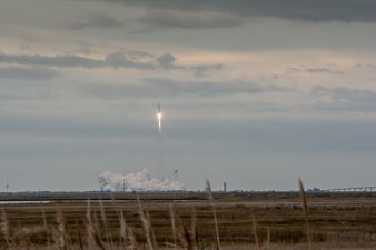 Wallops Island Rocket Launch
