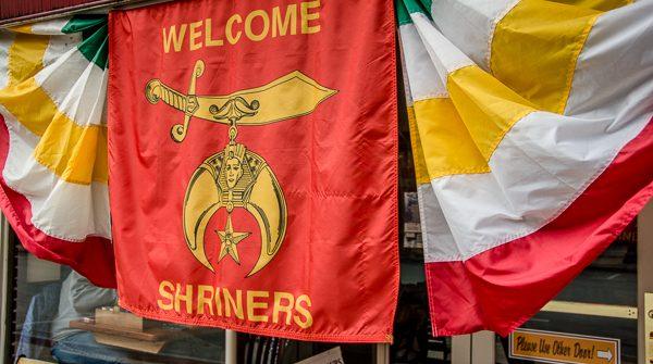 Shriner's Banner