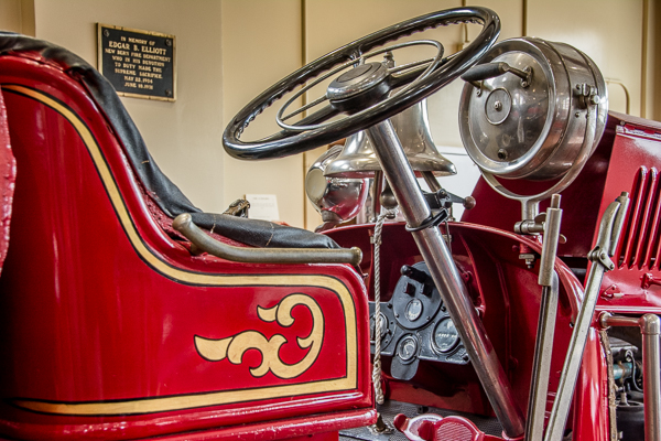 At the New Bern Fire Department Museum