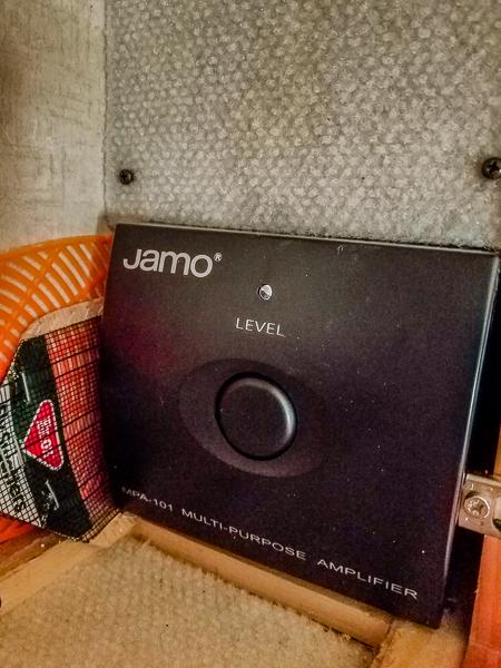 Amplifier Face Plate