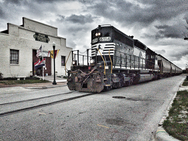 New Bern Train
