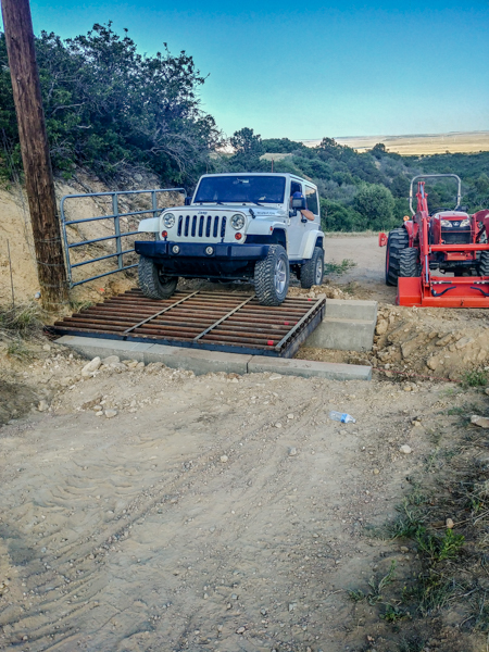 Testing the Cattle Guards