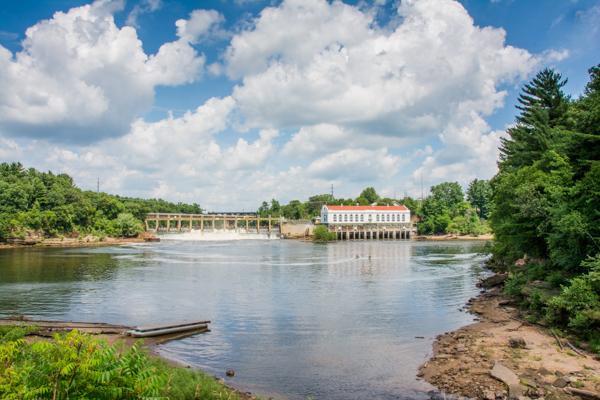 Wisconsin Dells Dam