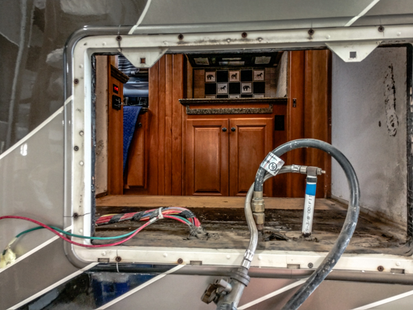 After the rat's nest of bad wiring is removed