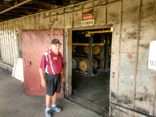 Bubba leads us into the Wild Turkey Warehouse