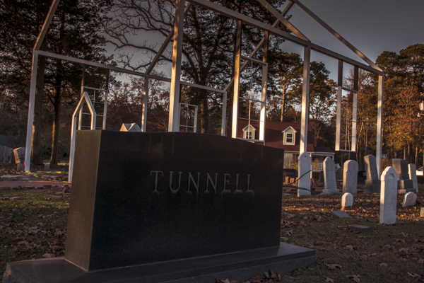 The Tunnel family were part of the Blackwater congregation