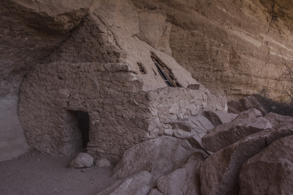 Just a short hike from lunch, the Turkey Creek Cliff Dwelling