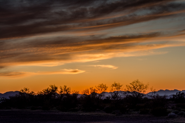 Quartzsite Sunset