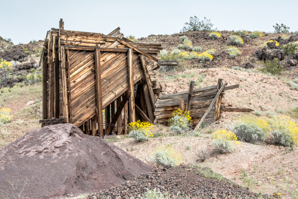 Abandoned Mine on Slot Canyon Trail