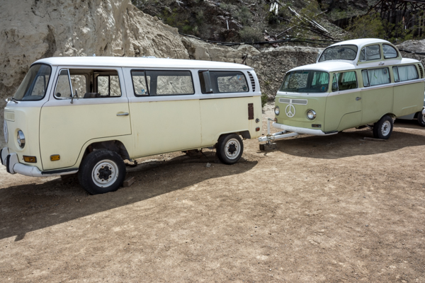 Camper and matching trailer!