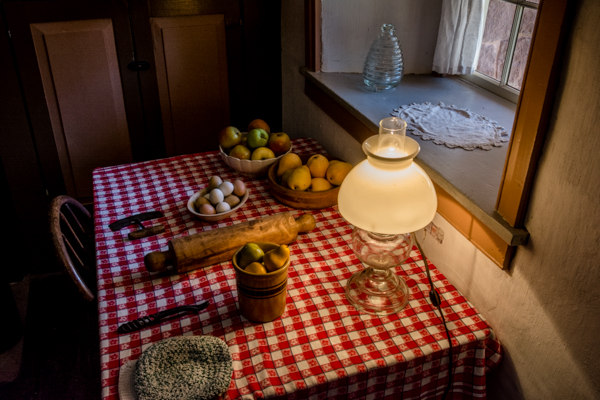 Mormon Ranch Manager's Family Kitchen