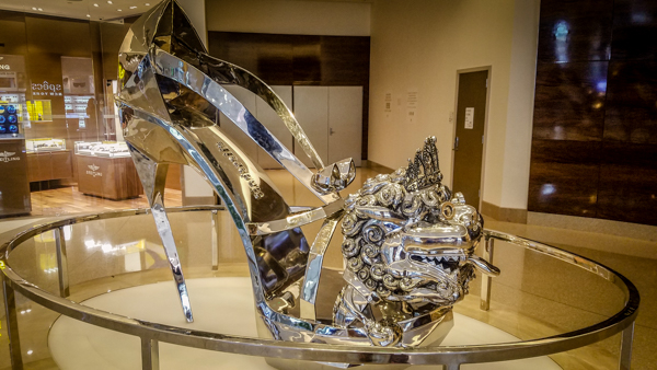 Shoe for a giant Cinderella?