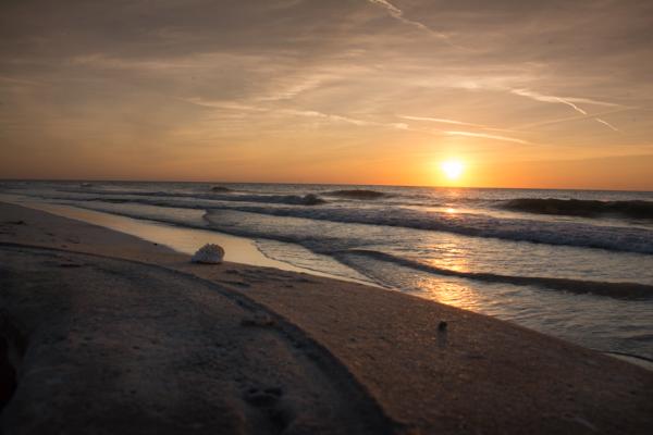 Sunset on Egmont Key