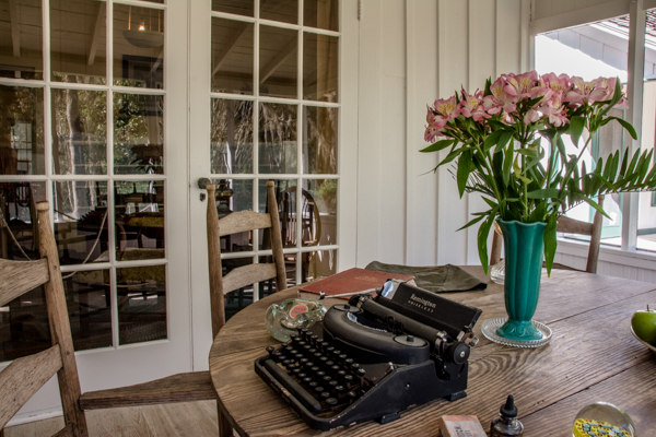 "Matt, Sherry and I spend a few hours at author Marjorie Kinnan Rawlings historic home.  She wrote ""The Yearling"" among other acclaimed works."