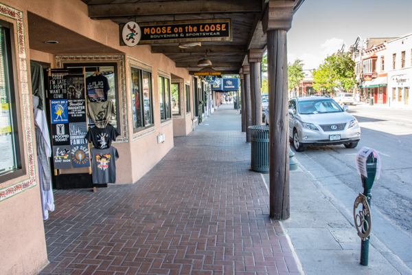 The Ghost Town that is Downtown Durango during Covaid 19
