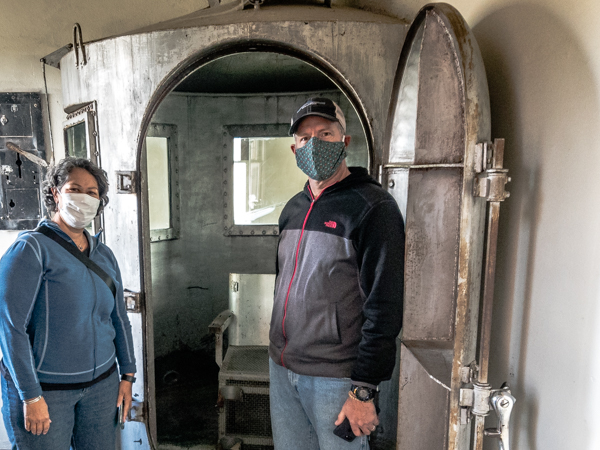 At least Matt avoids the fate of this gas chamber.