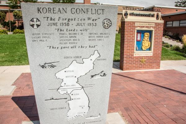 War Memorial in Vernal