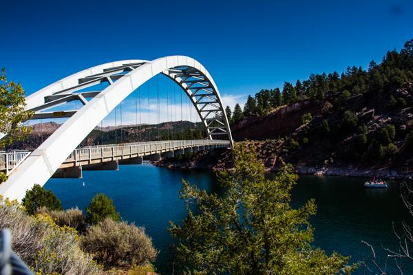 Bridge at Flaming Gorge