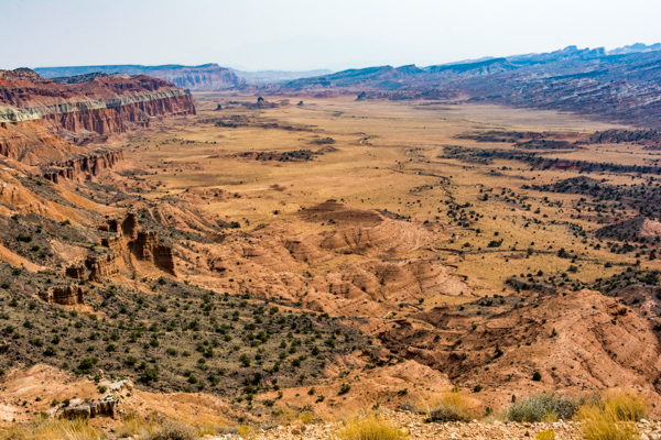 View from South Desert Overlook