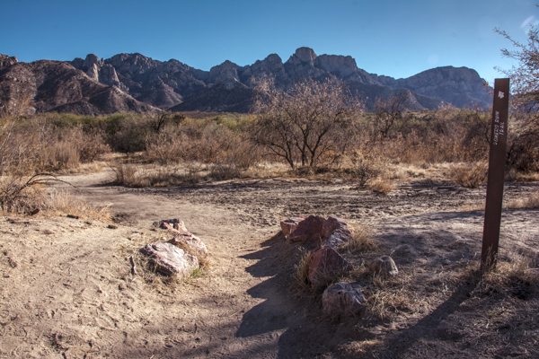 After my Biosphere 2 Tour, I picnic at nearby Catalina State Park and hike the ruins trail.