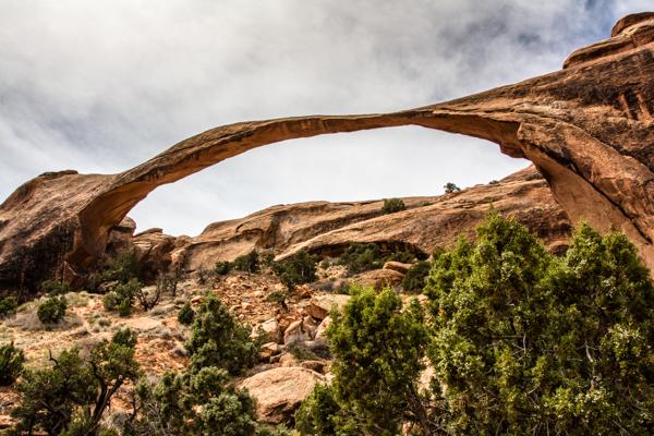 Lanscape Arch in Devil's Garden