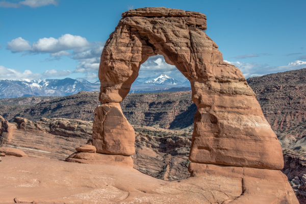 Delicate Arch - this hike was on my bucket list and was totally worth the extra effort.
