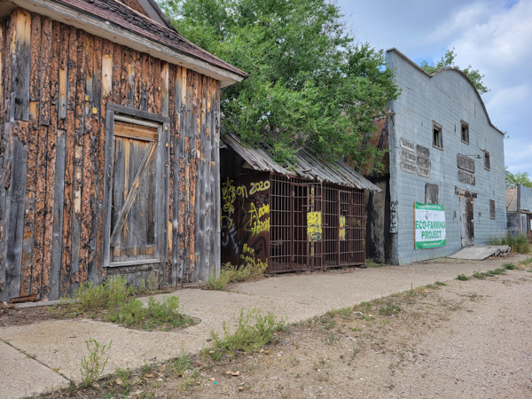 Ghost town east of Rapid City - Thanks Mike C for the tip!