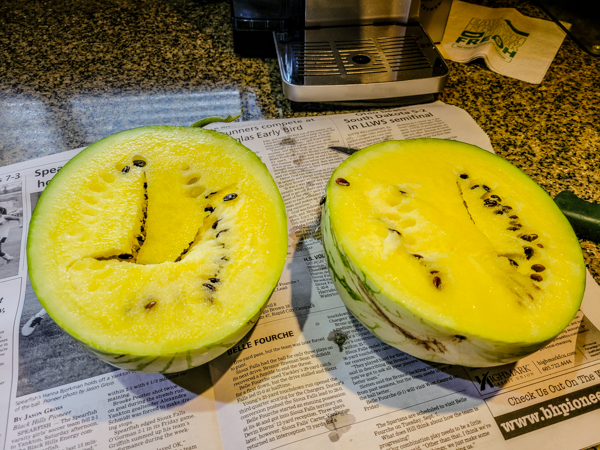 Spearfish fruit was awesome during July and August - this watermelon is the best I have ever eaten!